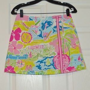 Lilly Pulitzer Lenore Skort Lillywood California 2